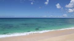 Stock Video Footage of Wave Breaking Hawaii