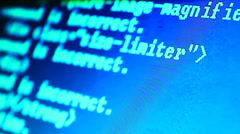 Stock Video Footage of HTML