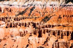 Amphitheater in Cedar Breaks National Monument, Utah, USA Stock Photos