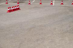 roadblocks - stock photo