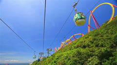Cable car Stock Footage
