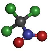 chloropicrin (ps) chemical warfare agent. ps is also used as a fumigant and n - stock illustration