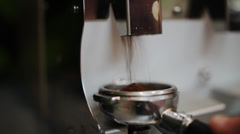 Preparation of cocktails, grinding coffee beans Stock Footage