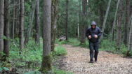Stock Video Footage of Runner with back pain episode 6