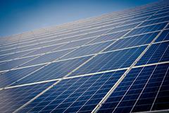 Solar collector Stock Photos