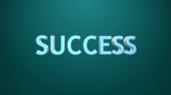 Success icon. Stock Footage