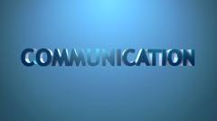 Communication icon. Stock Footage