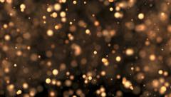 Particle abstract background Stock Footage