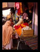 Stock Photo of India marketplace