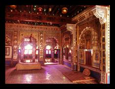 Stock Photo of India-Meharangarh Palace interior