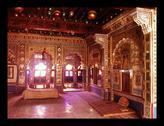 India-Meharangarh Palace interior Stock Photos