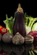 vegetable variation. - stock photo
