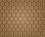 Stock Illustration of floral abstract background brown