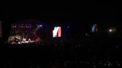 Jazz festival timelapse total Stock Footage