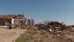 Moore, OK Tornado Damage - stock footage