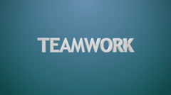Teamwork icon. - stock footage