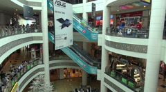 Shopping mall in Baku, Azerbaijan Stock Footage