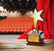 Star award for service Stock Photos