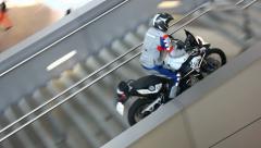 motorbike - stock footage