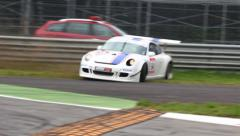 Racing cars Stock Footage