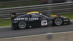 racing cars - stock footage