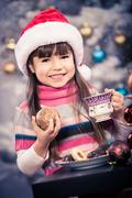 Xmas bakery Stock Photos