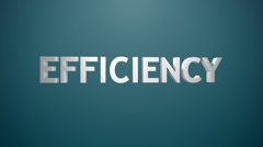 Efficiency icon. Stock Footage