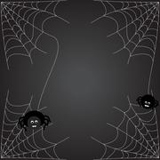 spiders web - stock illustration