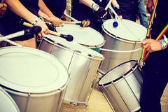 scenes of samba - stock photo