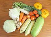 Fresh vegetable prepare for do food Stock Photos