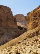 negev desert, israel - stock photo