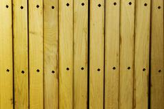 Yellow Wood Boards Background - stock photo