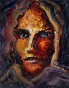 Stock Illustration of feminine face