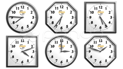 After Effects Project - Pond5 Clock Pack 1 6 Different 3D Clock 27719811
