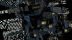 Skyscraper Ball 6 Close 3D Stock Footage