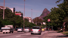 City, Rio de Janeiro / Brazil Stock Footage