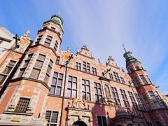 Big armory in gdansk, poland Stock Photos