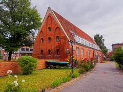 Small watermill in gdansk, poland Stock Photos