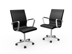 Stock Illustration of office chairs
