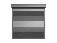 shutter door - stock illustration