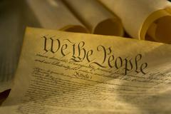 Constitution of the United States Stock Photos