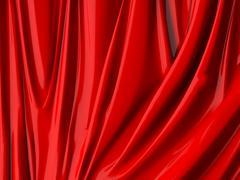 Curtain pattern Stock Illustration