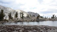 Stock Video Footage of Lone Pine Lake, Inyo National Forest