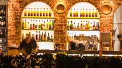 240GYDH Sydney Bar at Braza PAL Stock Footage
