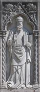 Apostle sculpture on the Island of Torcello Italy Stock Photos
