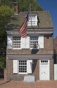 Betsy Ross House Philadelphia PA Kuvituskuvat