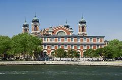 Ellis Island Immigration Museum New York NY Stock Photos