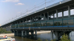 Metro Bridge Stock Footage