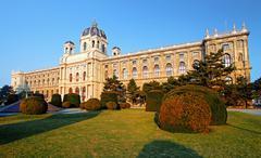 Natural history museum, vienna. Stock Photos