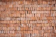 Red clay block Stock Photos